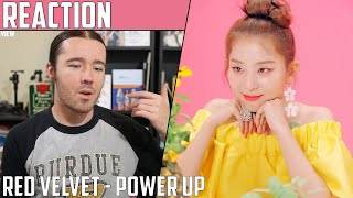Red Velvet(레드벨벳) - Power Up(파워업) MV Reaction