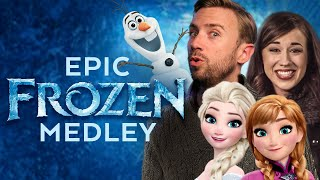 Video Epic Frozen Medley - Peter Hollens feat. Colleen Ballinger MP3, 3GP, MP4, WEBM, AVI, FLV Desember 2018