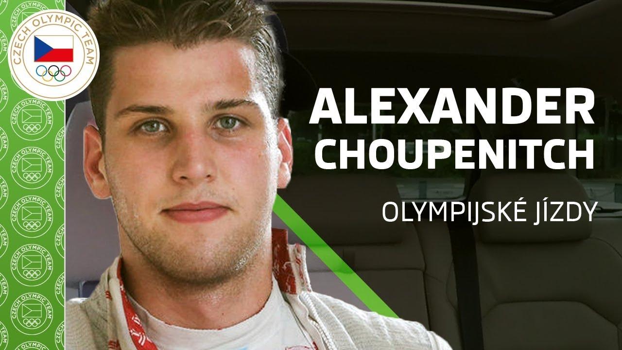 ŠKODA olympijské jízdy s Alexanderem Choupenitchem