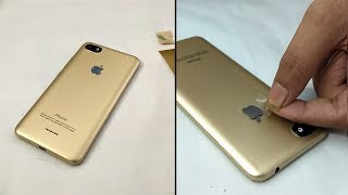 Video Redmi 6a converted in Iphone XS Just Gold apple lamination wrap skin MP3, 3GP, MP4, WEBM, AVI, FLV September 2019
