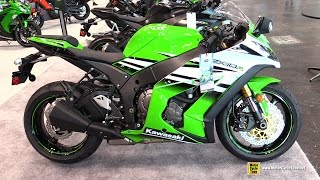 6. 2015 Kawasaki Ninja ZX-10R ABS 30th Anniversary Edition - Walkaround - 2014 New York Motorcycle Show