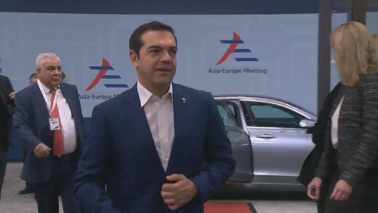 Ο πρωθυπουργός Αλέξης Τσίπρας  στο περιθώριο της 12ης Ευρωασιατικής Συνόδου (ASEM)