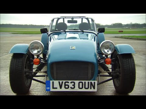 James May and the The Stig on the Caterham – Top Gear – Series 21 – Behind the Scenes