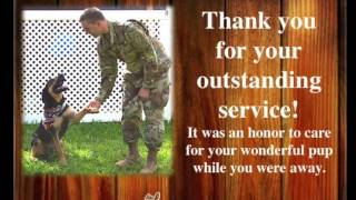 Honored to help our military!