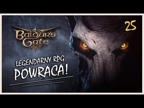 Zagrajmy w Baldur's Gate III (PL) #25 - Spotkanie ze Smokiem! (GAMEPLAY PL)