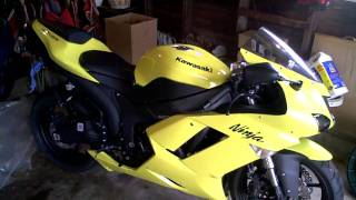1. 2008 Kawasaki Ninja ZX6r Specs and Walkaround HD