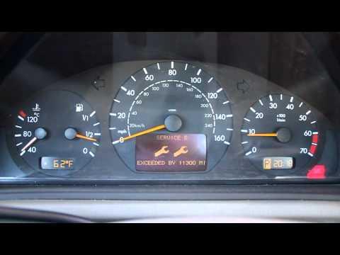 2000 Mercedes-Benz CLK-Class Start Up -- SRS Airbag Light On www.mycarwhiz.com