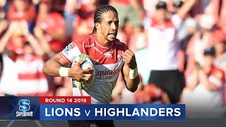 Lions v Highlanders  Rd.14 2019 Super rugby video highlights | Super Rugby Video Highlights