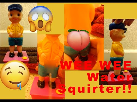 Unboxing The Wee Wee Water Squirter (peeing Gag Toy)