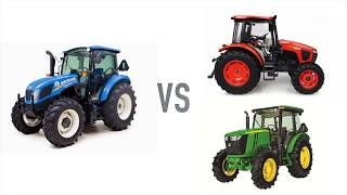 4. New Holland T4 Utility Tractors vs Kubota and John Deere