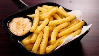 सबसे आसान तरीके वाली कुरकुरी फ्राइज - suji french fries recipe quick crispy - cookingshooking