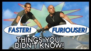 Nonton 7 MORE Things You (Probably) Didn't Know About The Fast & Furious! Film Subtitle Indonesia Streaming Movie Download