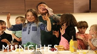 How To Make Grilled Cheese with Matty Matheson and Kids by Munchies