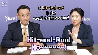 [Korean Lawyer] #5 Hit and Run! No ~~~~~!