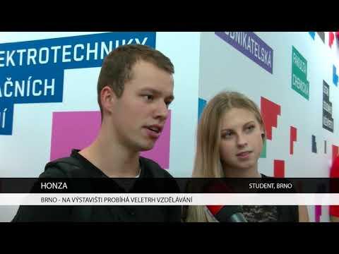 TV Brno 1: 1.11.2017 Na Výstavišti probíhá Veletrh vzdělávání