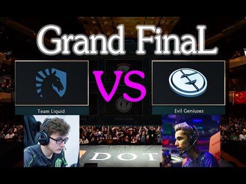 Dota 2 LIVE - Team Liquid(9k Miracle) vs EG (SumaiL) || Grand FinaL|| Dota 2 Tournament