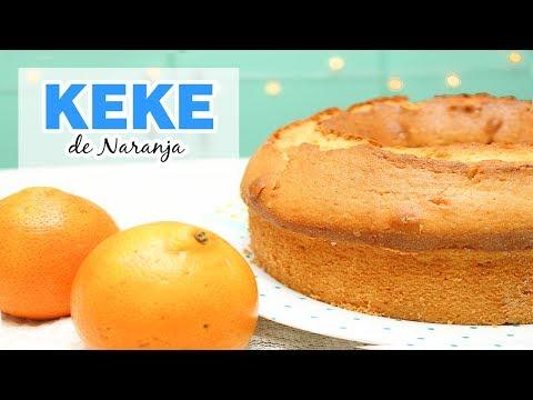 Keke de Naranja hecho en Casa - Fácil de preparar / Cositaz Ricaz