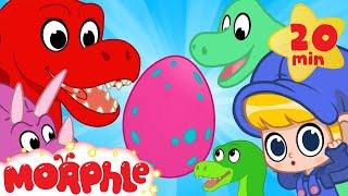 Video Mystery Dinosaur Egg! Mila and Morphle find the egg's dinosaur mother! Morphle episodes for kids! MP3, 3GP, MP4, WEBM, AVI, FLV Maret 2019