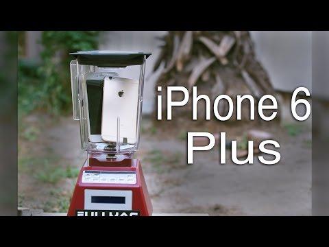 Что будет, если взбить iPhone 6 в блендере?