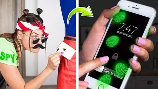 Video 15 Spy Pranks And Life Hacks / What If Your BFF Is A Spy MP3, 3GP, MP4, WEBM, AVI, FLV Juli 2019