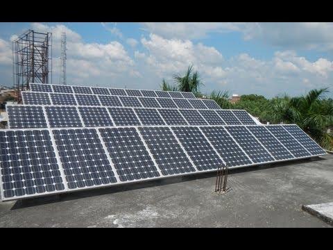 Solar Powered School Rampur (U.P.) India