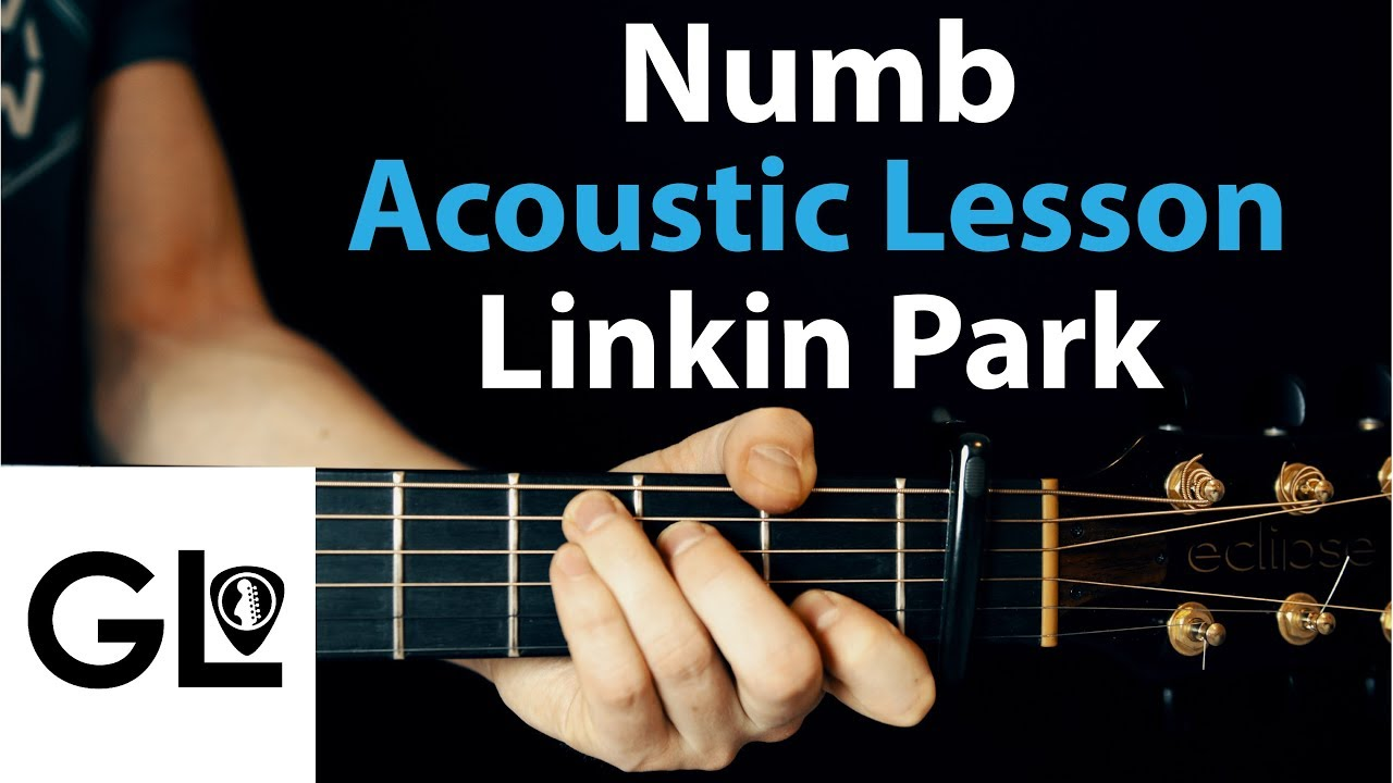 Numb – Linkin Park: Acoustic Guitar Lesson EASY