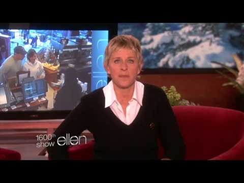 Favorite Moments  Making Ellen Laugh