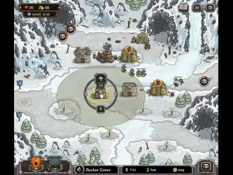 Kingdom Rush Walkthrough Level 18
