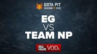 EG vs NP, Dota Pit Season 5, game 1 [Maelstorm, 4ce]