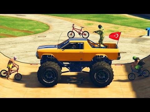 MARSHALL vs BMX GTA 5 ONLINE (видео)