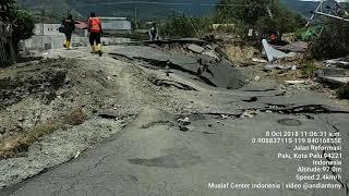 Video kondisi terkini jalan reformasi arah perumahan yang kampungnya terblender akibat bencana MP3, 3GP, MP4, WEBM, AVI, FLV Oktober 2018