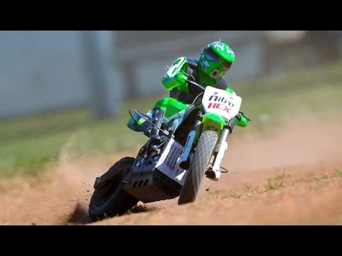 New 1/4 Scale MX 400 Off Road RC Motorcycle
