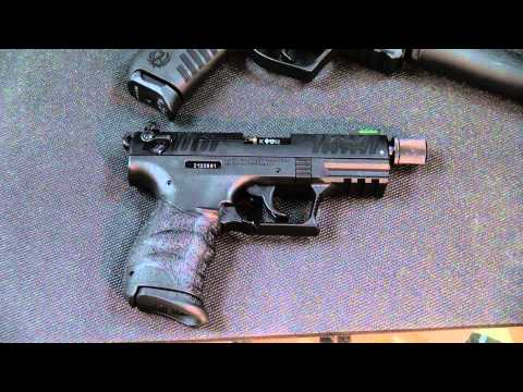 Disassembly Walther P22 Ruger Sr22 vs Walther P22