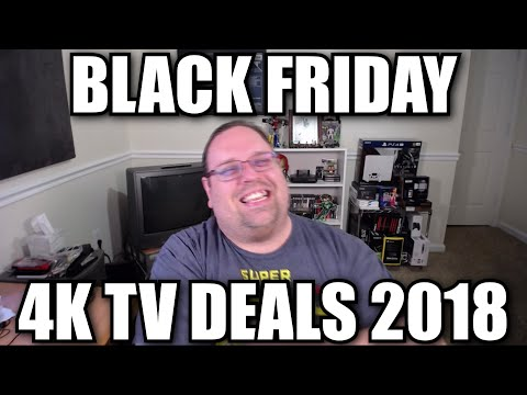 Black Friday 4K TV Deals 2018
