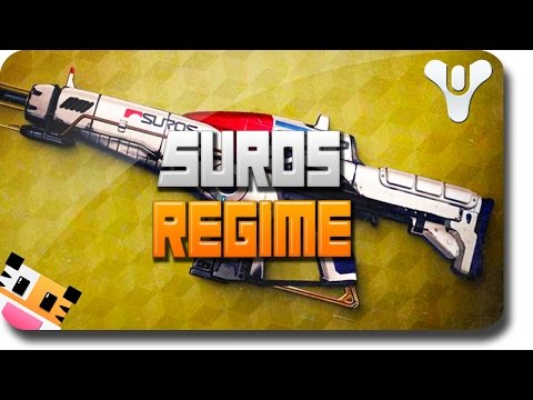 regime - This video will review the Exotic Weapon: Suros Regime in Destiny. This Destiny Auto Rifle is the best Assault Rifle in Destiny. If you have any questions on...