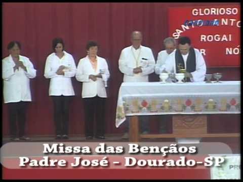 Missa das Bençãos Padre José Antonio de Dourado-SP - 04-07-2012