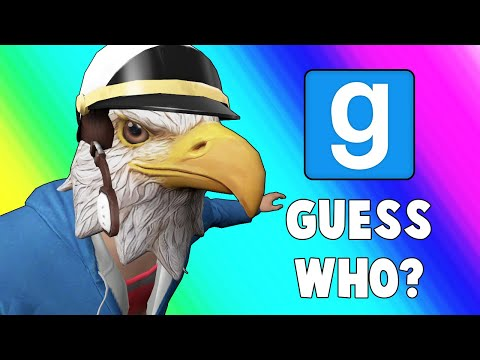 Gmod Guess Who Funny Moments - LEGIQN's First Guess Who! (Garry's Mod) (видео)