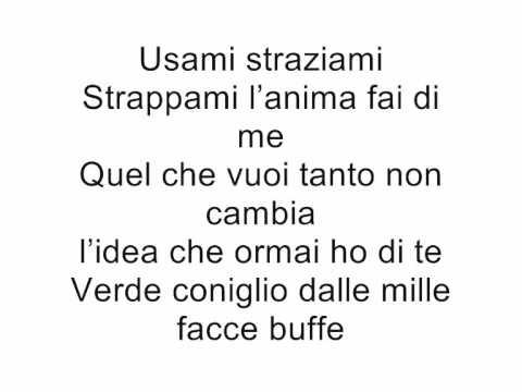 , title : 'Negramaro-Mentre tutto scorre (lyrics)'
