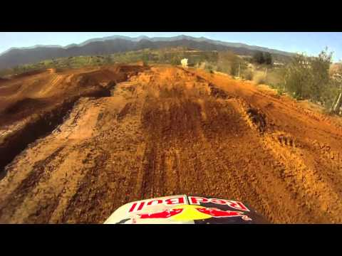 Ken Roczen riding the KTM 350
