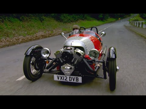 Jonny Visits The Morgan Factory – Fifth Gear
