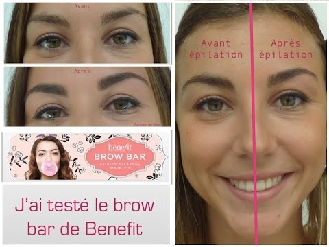J'ai enfin testé le Brow Bar de Benefit - Coloration / Epilation sourcils