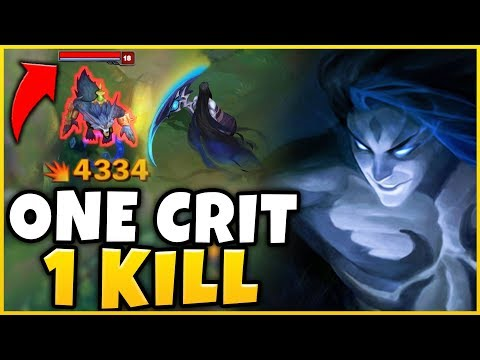 #1 KAYN WORLD *ONE CRIT ONE KILL* BUILD (HUGE DAMAGE) - League Of Legends