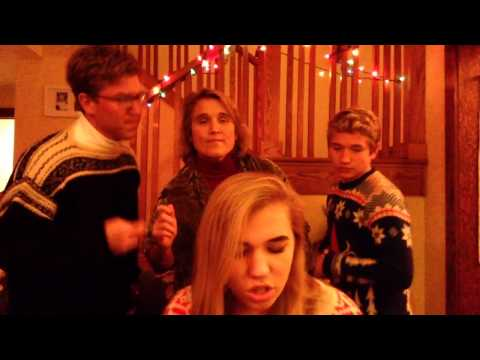 WATCH: Best Family Christmas Video Card EVER