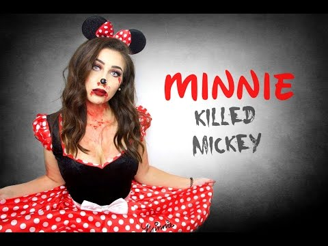 EVIL MINNIE MOUSE MAKE-UP 😈 - Horia