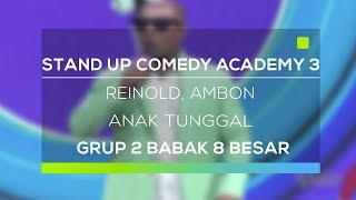Video Stand Up Comedy Academy 3 : Reinold, Ambon - Anak Tunggal MP3, 3GP, MP4, WEBM, AVI, FLV November 2017