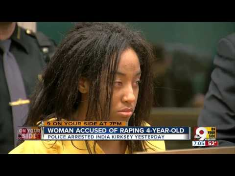 Price Hill woman accused of raping toddler