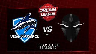 Vega Squadron vs  The Final Tribe, DreamLeague Minor, bo3, game 3 [Mila & Adekvat]