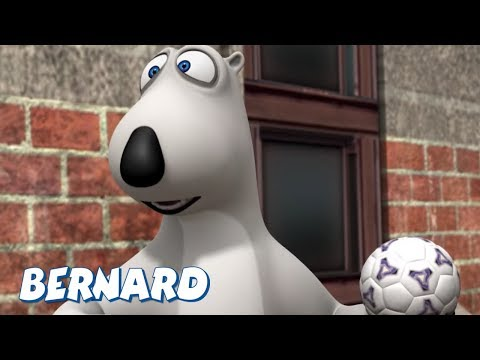 Bernard Bear | Indoor Football AND MORE | Cartoons for Children