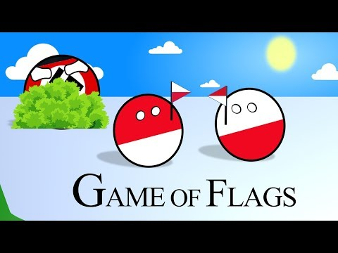 Polandball / Flag Games - Poland Flag And Indonesia Flag
