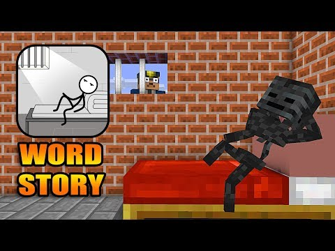Monster School : Word Story Challenge- Minecraft Animation